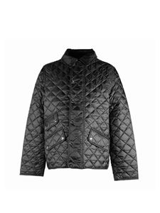 Burberry - Diamond quilted jacket in black