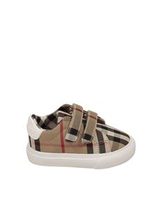 Burberry - Markham Vintage Check motif sneakers