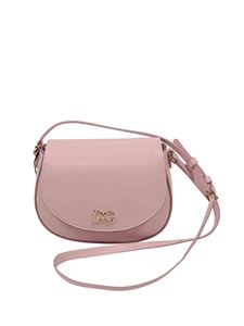 Dolce & Gabbana Jr - Tropical Rose bag in pink calf leather