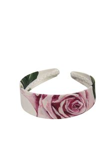 Dolce & Gabbana Jr - Tropical Rose printed headband