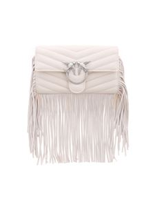 Pinko - Love Wallet Fringes in cream color