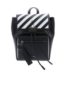 Off-White - Zaino Diag Binder nero