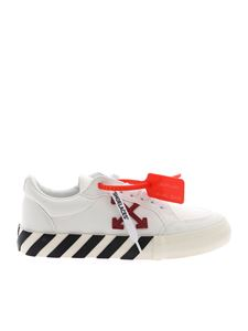 Off-White - Arrow Low Vulcanize sneakers in white