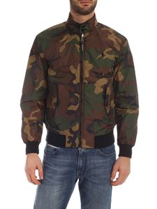 POLO Ralph Lauren - Technical fabric camouflage bomber jacket