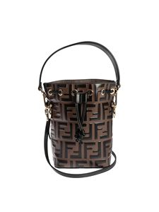 Fendi - Mon Tresor Minibag in brown