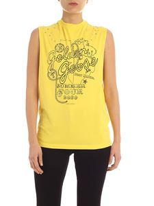 Golden Goose - Top Marfa giallo