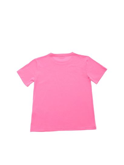 Gucci - GG print cotton jersey T-shirt in pink