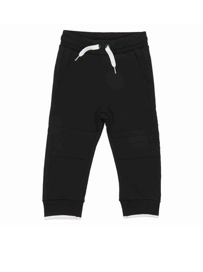 Givenchy - Cotton fleece pants in black