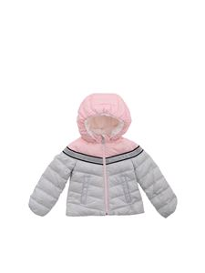 Moncler Jr - Marik down jacket in pearl grey