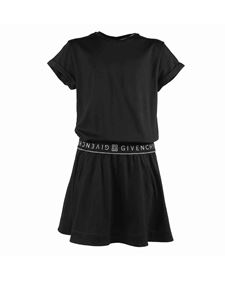 Givenchy - Branded waistband dress in black