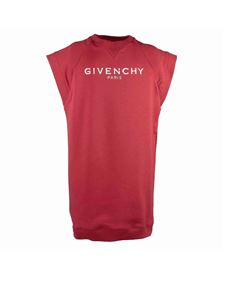 Givenchy - Vintage logo printed dress in red