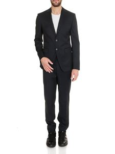 Dsquared2 - Single-breasted London Suit in dark blue