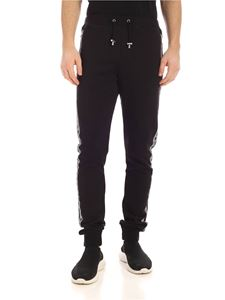 Balmain - Sidebands fleece sweatpants in black