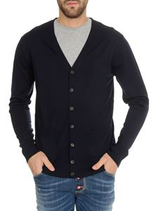 Dsquared2 - Knitted cardigan in blue