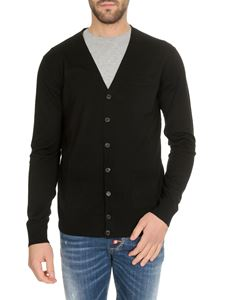 Dsquared2 - Knitted cardigan in black