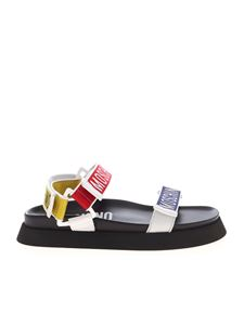 Moschino - Moschino's Tape multicolor sandals