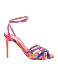 Semicouture - Floriane multicolor sandals with sequins