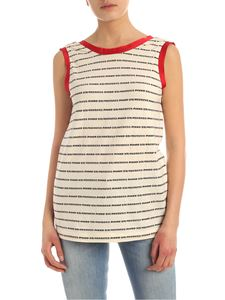 Pinko Uniqueness - Top Distinta beige