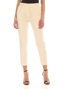 Pinko - Bello 86 pants in ivory color