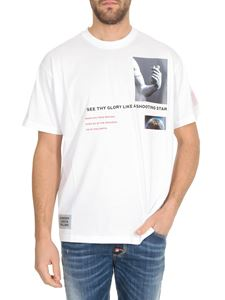 Burberry - Collage prints T-shirt in white
