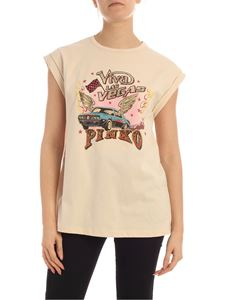 Pinko - T-shirt Cannolo beige