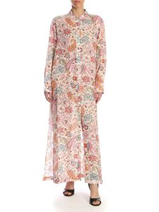 Etro - Chemisier in pink with paisley print