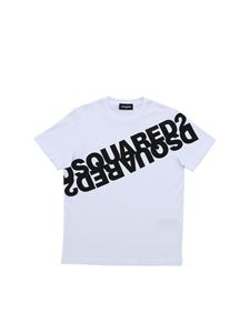 Dsquared2 - Mirrored Logo T-shirt in white