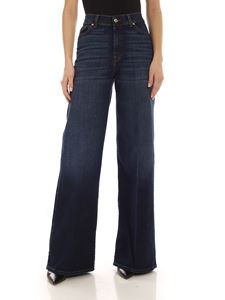7 For All Mankind - Lotta palazzo jeans in blue