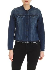 7 For All Mankind - Blue faded denim jacket