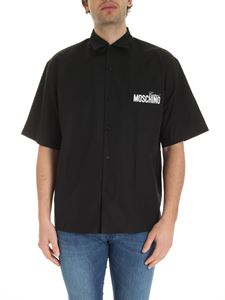 Moschino - Logo prints shirt in black