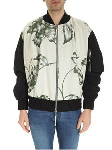 Vivienne Westwood  - Peony oversize bomber in ivory color