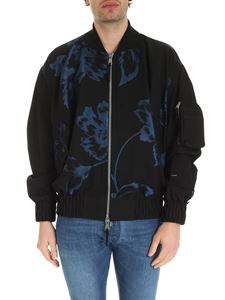 Vivienne Westwood  - Peony oversize bomber in blue