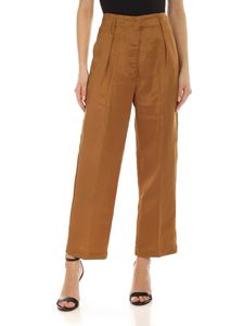 Semicouture - Aude pants in amber color