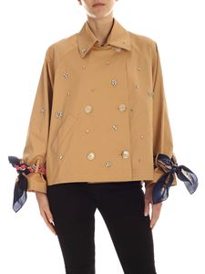 Semicouture - Raymonde double-breasted jacket in beige