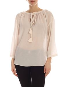 Semicouture - Adriane blouse in ivory color