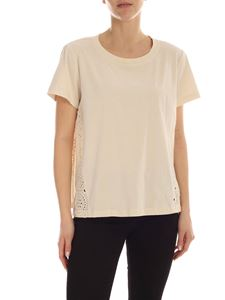 Semicouture - Lison T-shirt in ecru