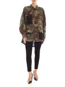 Semicouture - Field Urielle camouflage jacket