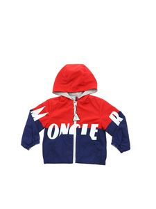 Moncler Jr - Kruth hooded jacket in red and blue