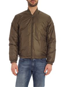 Woolrich - Bomber Pack-it verde militare