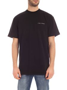 IH NOM UH NIT - I Was There T-shirt in black