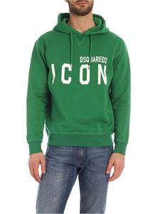 Dsquared2 - Maxi lettering logo sweatshirt in green