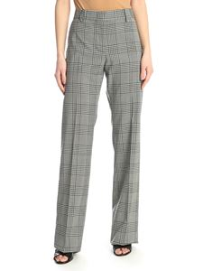 MSGM - Prince of Wales trousers in grey