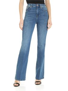 7 For All Mankind - Lisha Slim Illusion Posessed jeans in blue