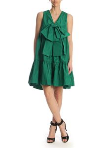 MSGM - Dress with flounces and bow