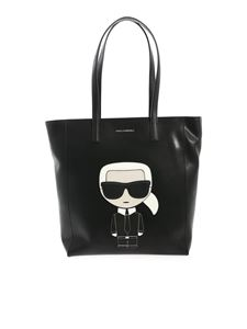 Karl Lagerfeld - K/Iconic Soft tote bag in black