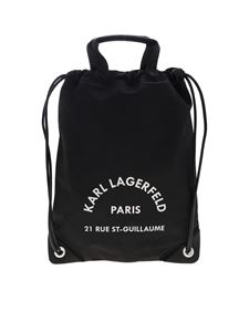 Karl Lagerfeld - Rue St Guillaume handbag in black