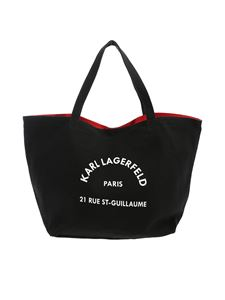 Karl Lagerfeld - K/Rue ST Guillaume Tote bag in black