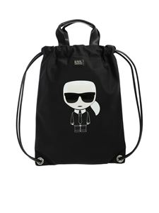 Karl Lagerfeld - K/Ikonik handbag in black