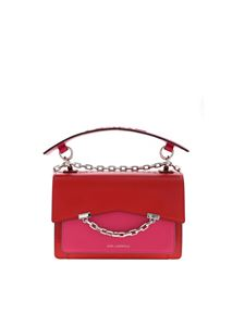 Karl Lagerfeld - K/Karl Seven MD bag in fuchsia and red