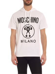 Moschino - Double Question Mark T-shirt in white